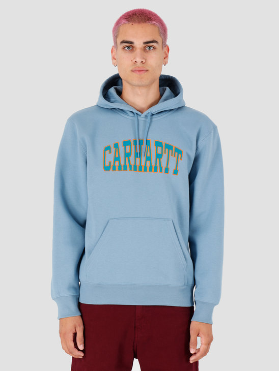Carhartt WIP Hooded Theory Sweat Cold Blue I027031