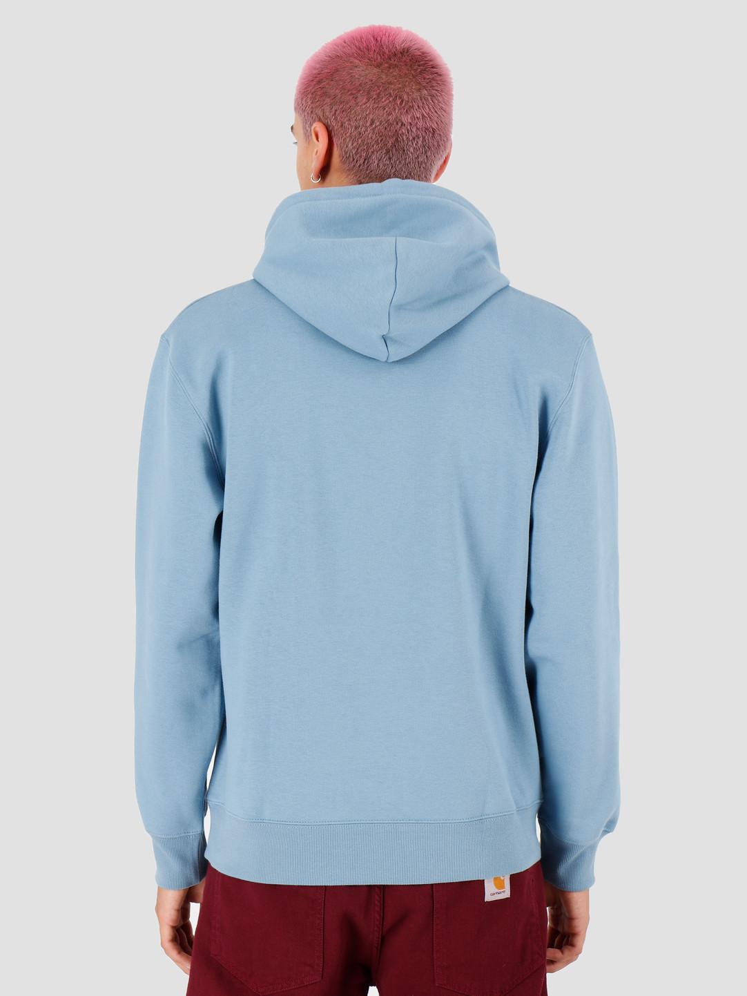 Carhartt WIP Carhartt WIP Hooded Theory Sweat Cold Blue I027031