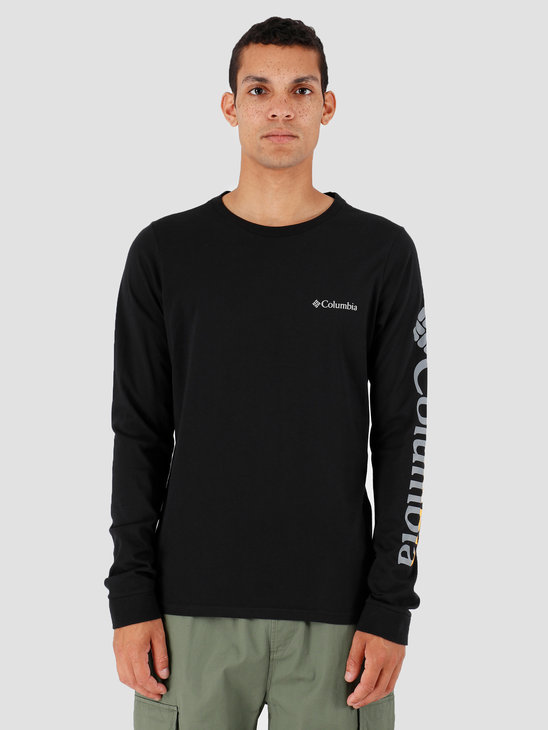 Columbia Columbia Lodge Longsleeve Graphic Tee Black Sleeve H 1867302010