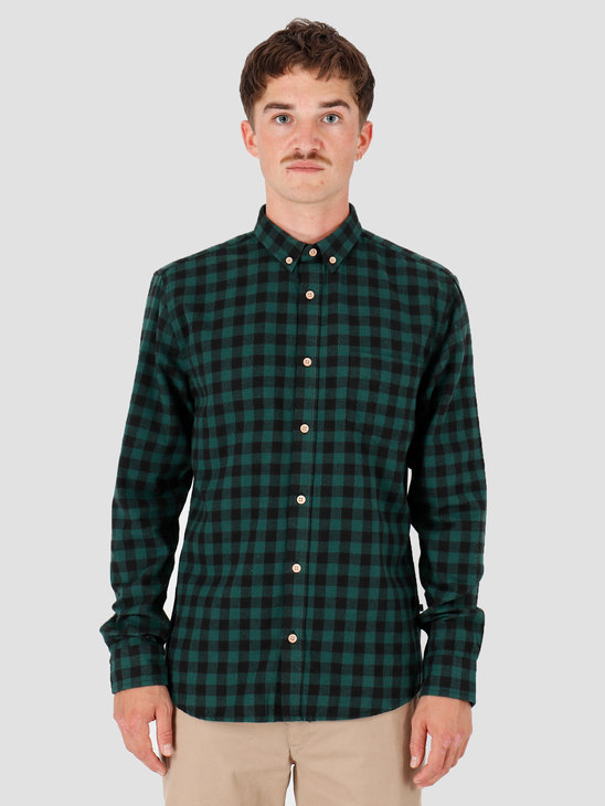 Kronstadt Johan Check Gr18 Shirt Green KRFH18-KS2566