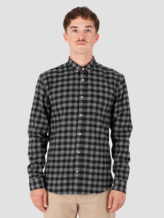 Kronstadt Johan Check Gr.18 Shirt Black KS2566