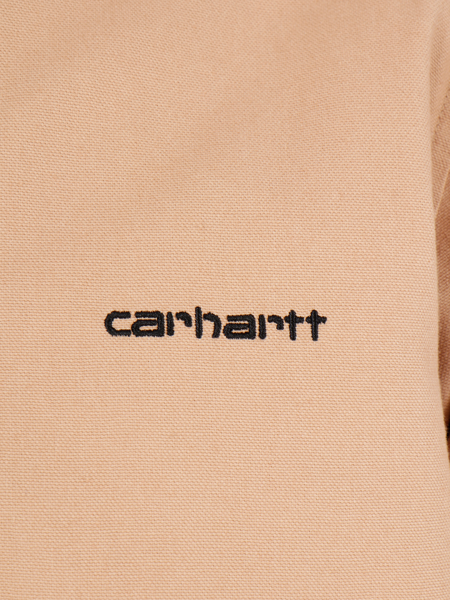 Carhartt WIP Carhartt WIP Canvas Coach Jacket Dusty H Brown Black I026723