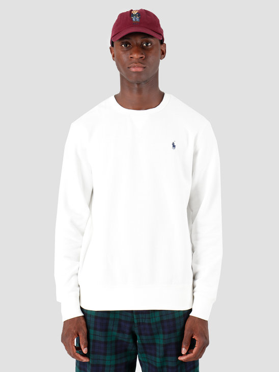 Polo Ralph Lauren Fleece Longsleeve White 710766772002