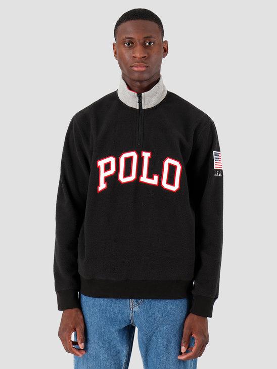 Polo Ralph Lauren Polar Fleece Longsleeve Black 710719882005