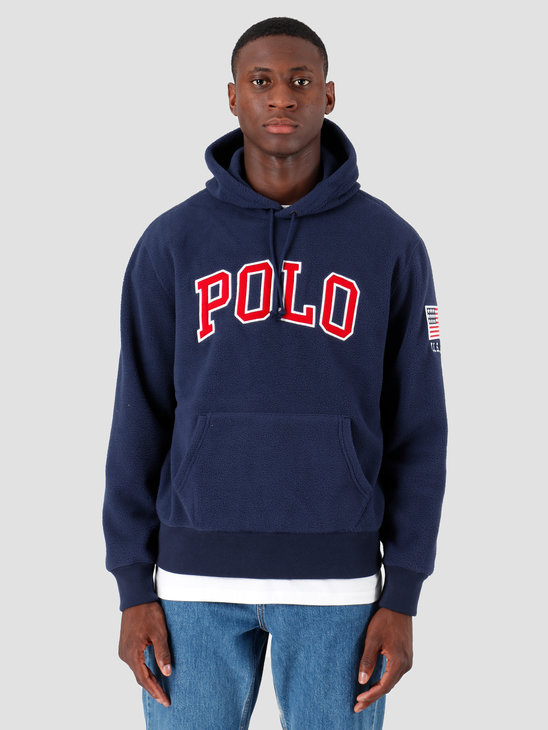 Polo Ralph Lauren Vintage Polar Fleece Longsleeve Navy 710696327003