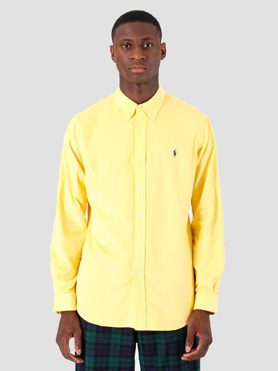 Polo Ralph Lauren 21 Wale Corduroy Sport Shirt Longsleeve Yellow 710767118004
