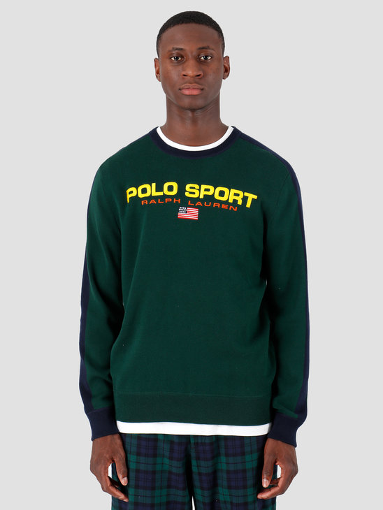 Polo Ralph Lauren Longsleeve Cotton Sweater Green 710761914001