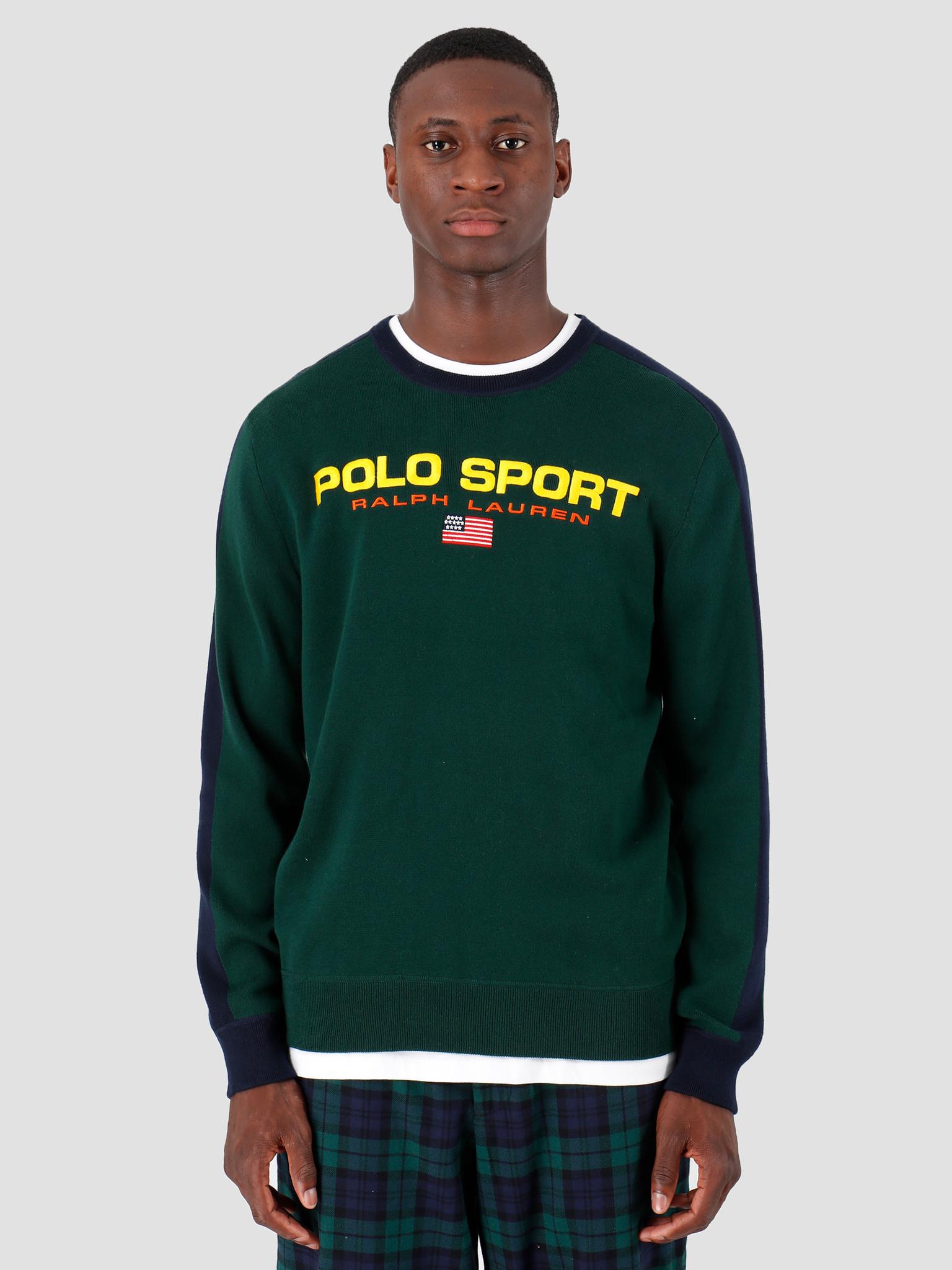 Polo Ralph Lauren Polo Ralph Lauren Longsleeve Cotton Sweater Green 710761914001