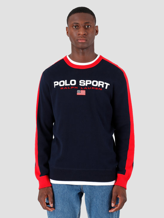 Polo Ralph Lauren Longsleeve Cotton Sweater Navy 710761914002
