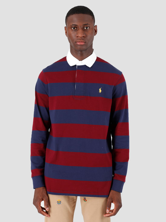 Polo Ralph Lauren Longsleeve Rugby M5 Navy 710717116008