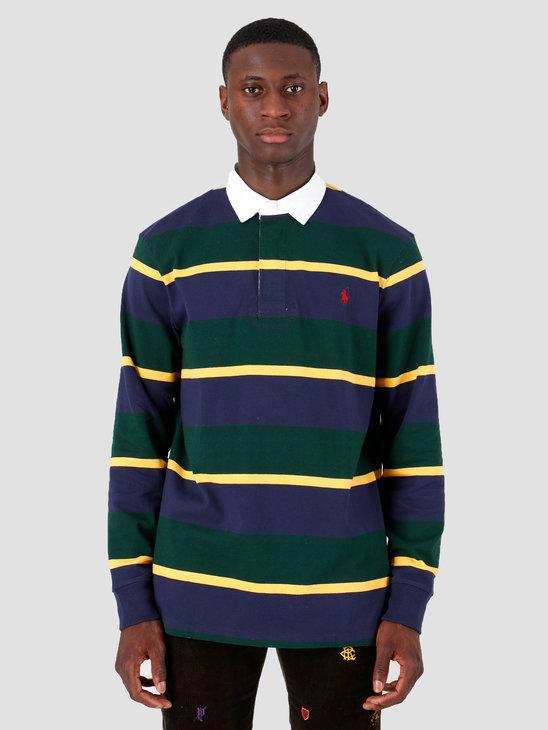 Polo Ralph Lauren Longsleeve Rugby M9 Green 710717116009
