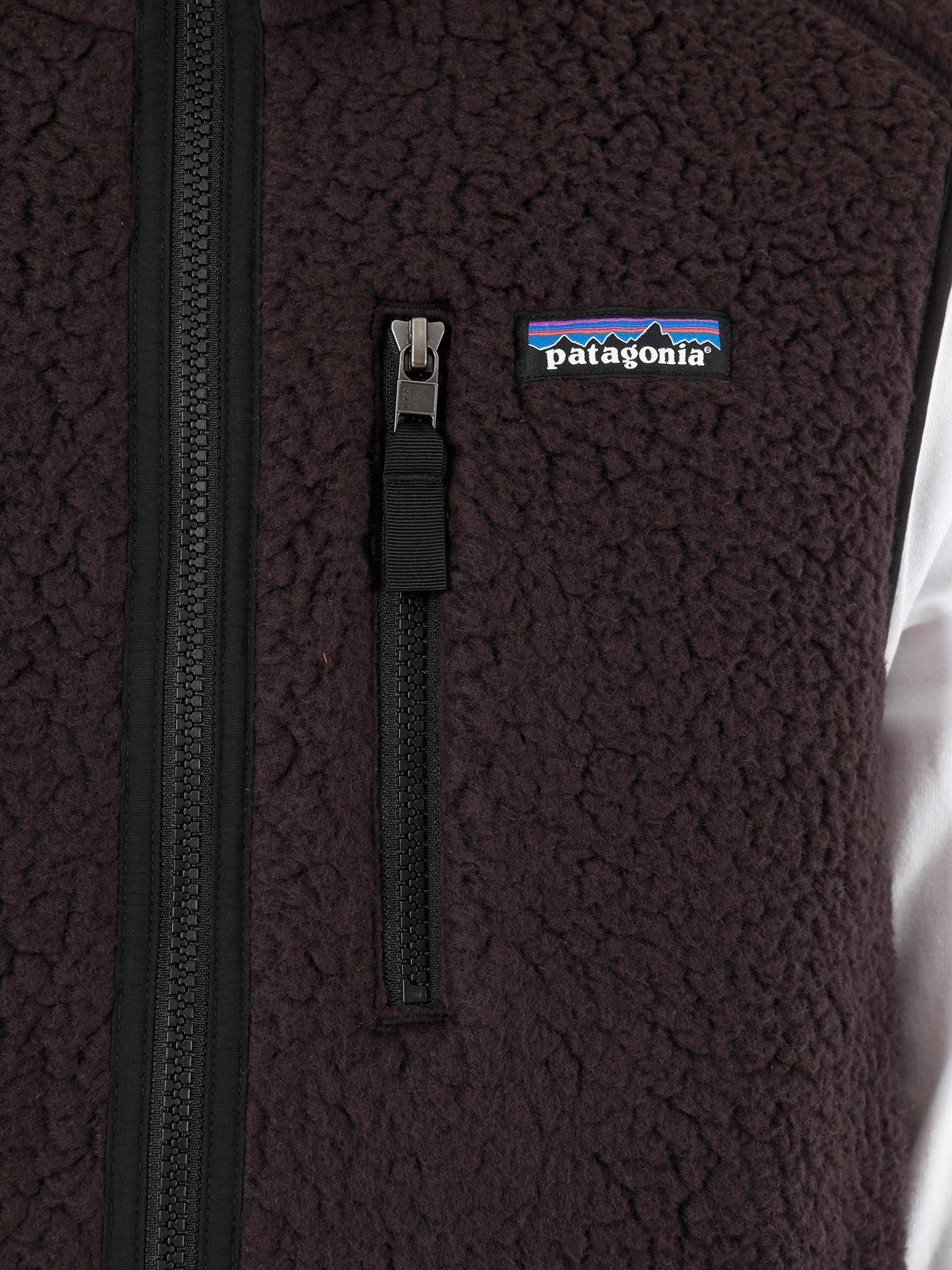 Patagonia Patagonia Retro Pile Vest Black 22821