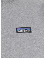 Patagonia Patagonia P 6 Label Uprisal Crew Sweatshirt Gravel Heather 39543
