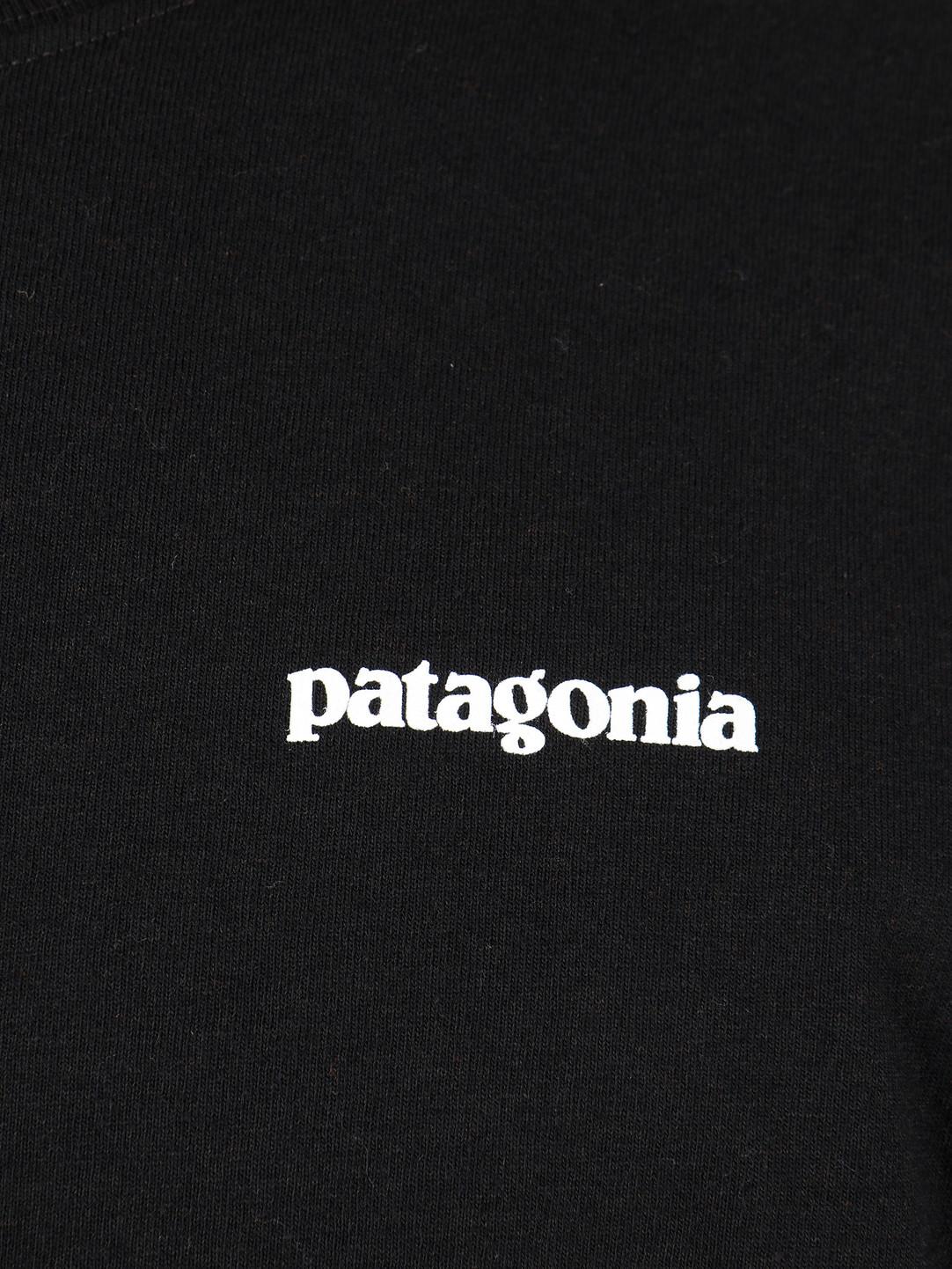 Patagonia Patagonia P 6 Logo Responsibili Longsleeve Black 39161