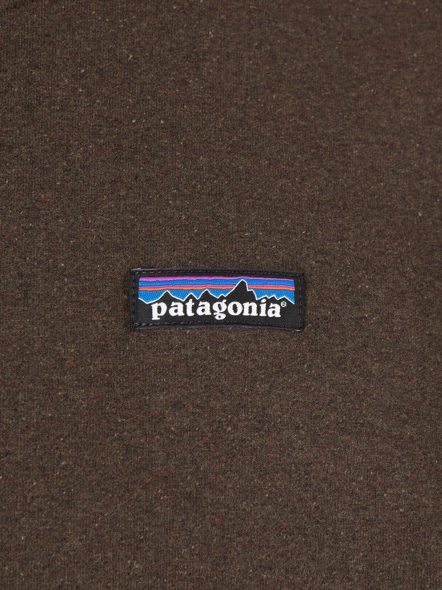 Patagonia Patagonia P-6 Label Uprisal Crew Sweatshirt Logwood Brown 39543