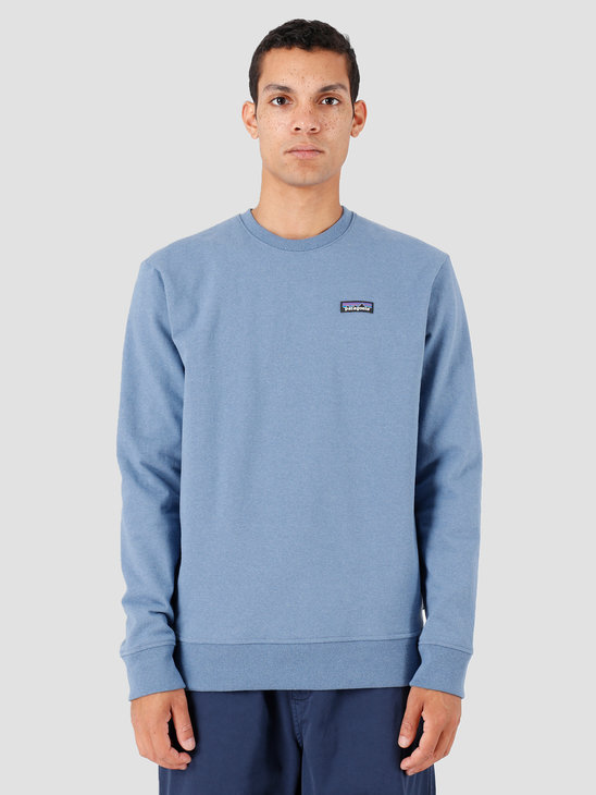 Patagonia P-6 Label Uprisal Crew Sweatshirt Woolly Blue 39543