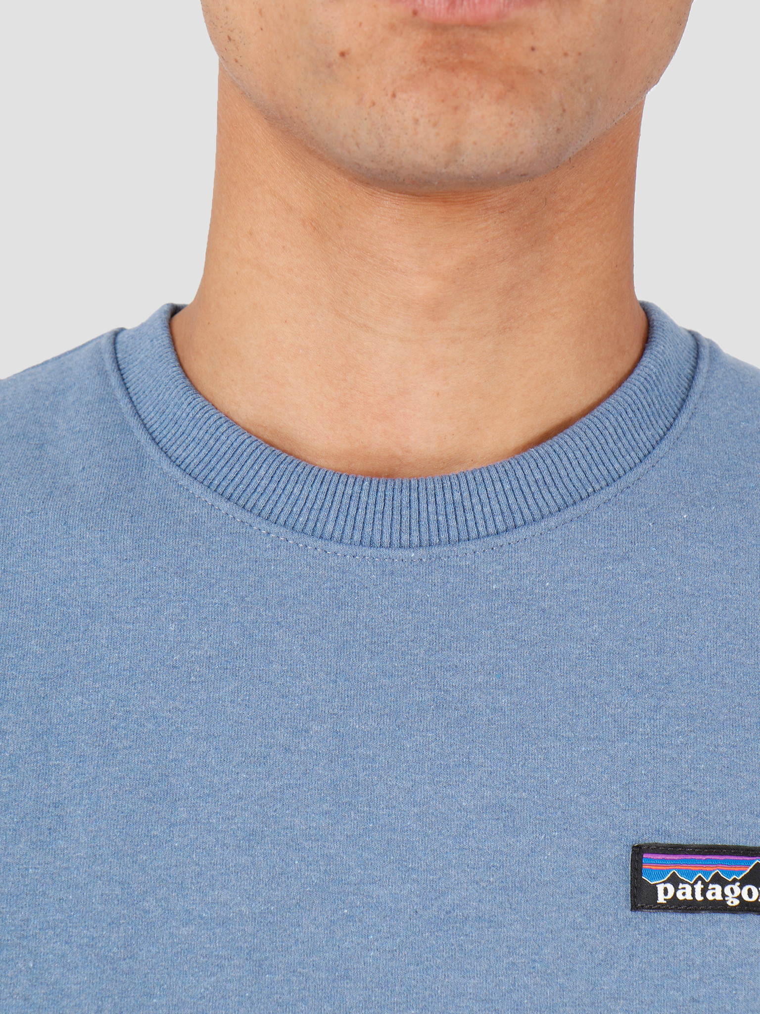 Patagonia Patagonia P-6 Label Uprisal Crew Sweatshirt Woolly Blue 39543
