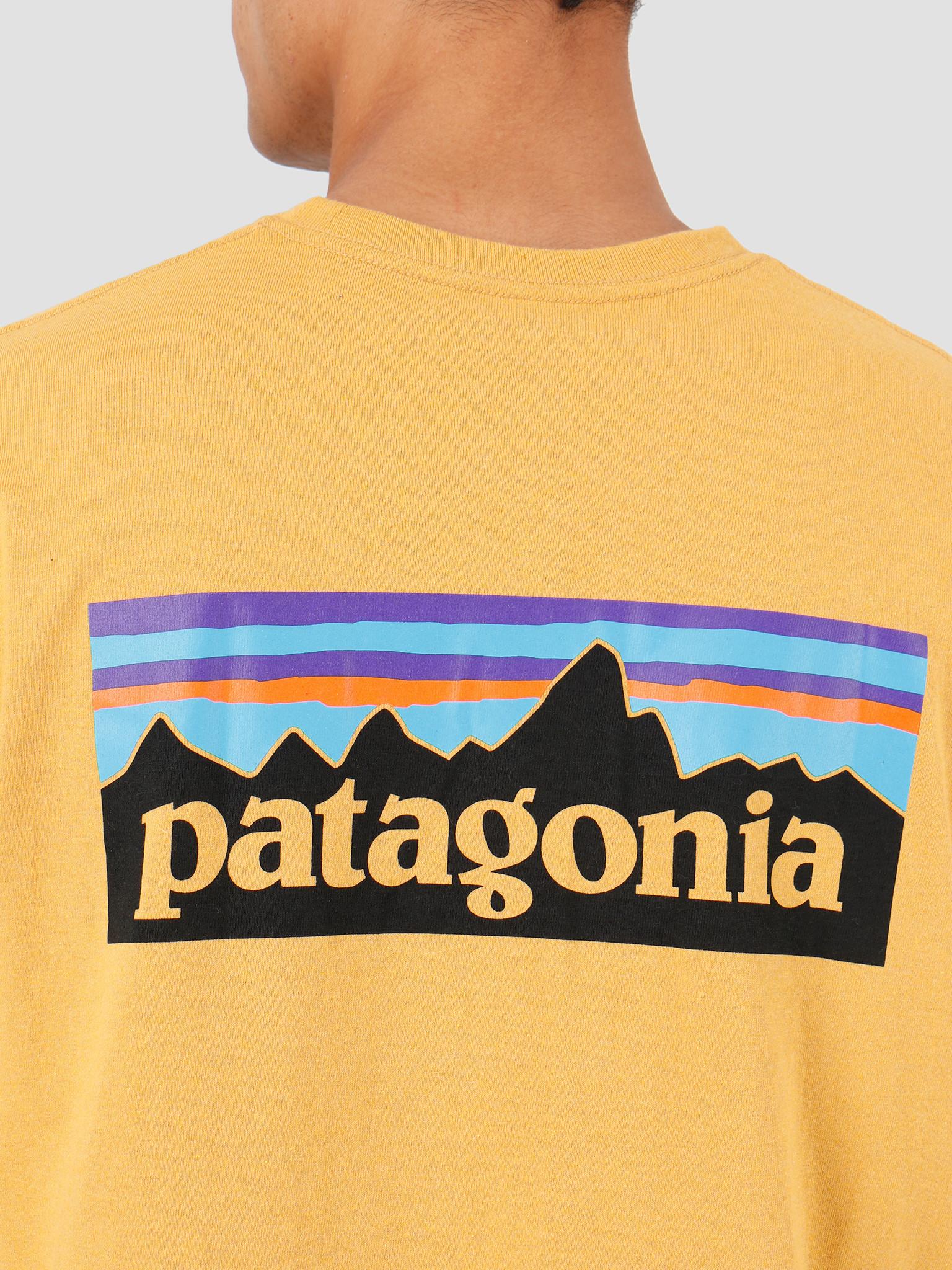 Patagonia Patagonia P-6 Logo Responsibili-T-Shirt Glyph Gold 39174