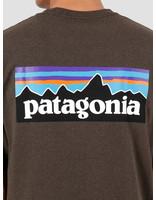 Patagonia Patagonia P-6 Logo Responsibili-T-Shirt Logwood Brown 39174