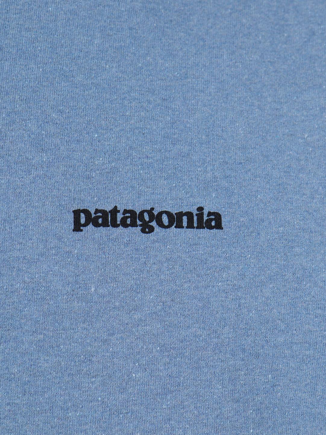 Patagonia Patagonia P-6 Logo Responsibili-T-Shirt Woolly Blue 39174