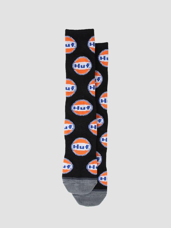 HUF Ignite Sock Black SK00421