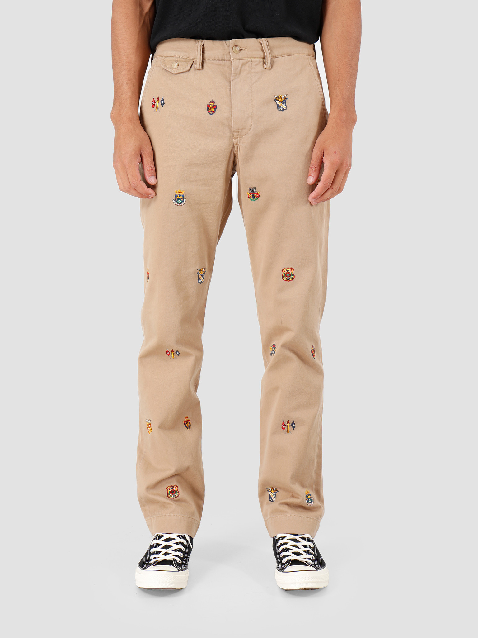 Polo Ralph Lauren Polo Ralph Lauren Straight Fit Bedford Pant Beige Khaki 710767327001