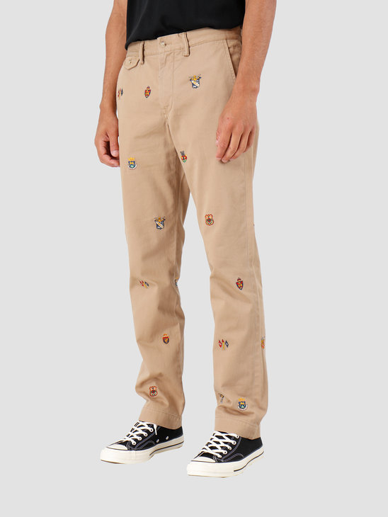 Polo Ralph Lauren Straight Fit Bedford Pant Beige Khaki 710767327001