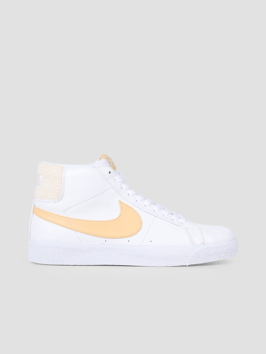 Nike SB Zoom Blazer Mid Prm White Celestial Gold CJ6983-102