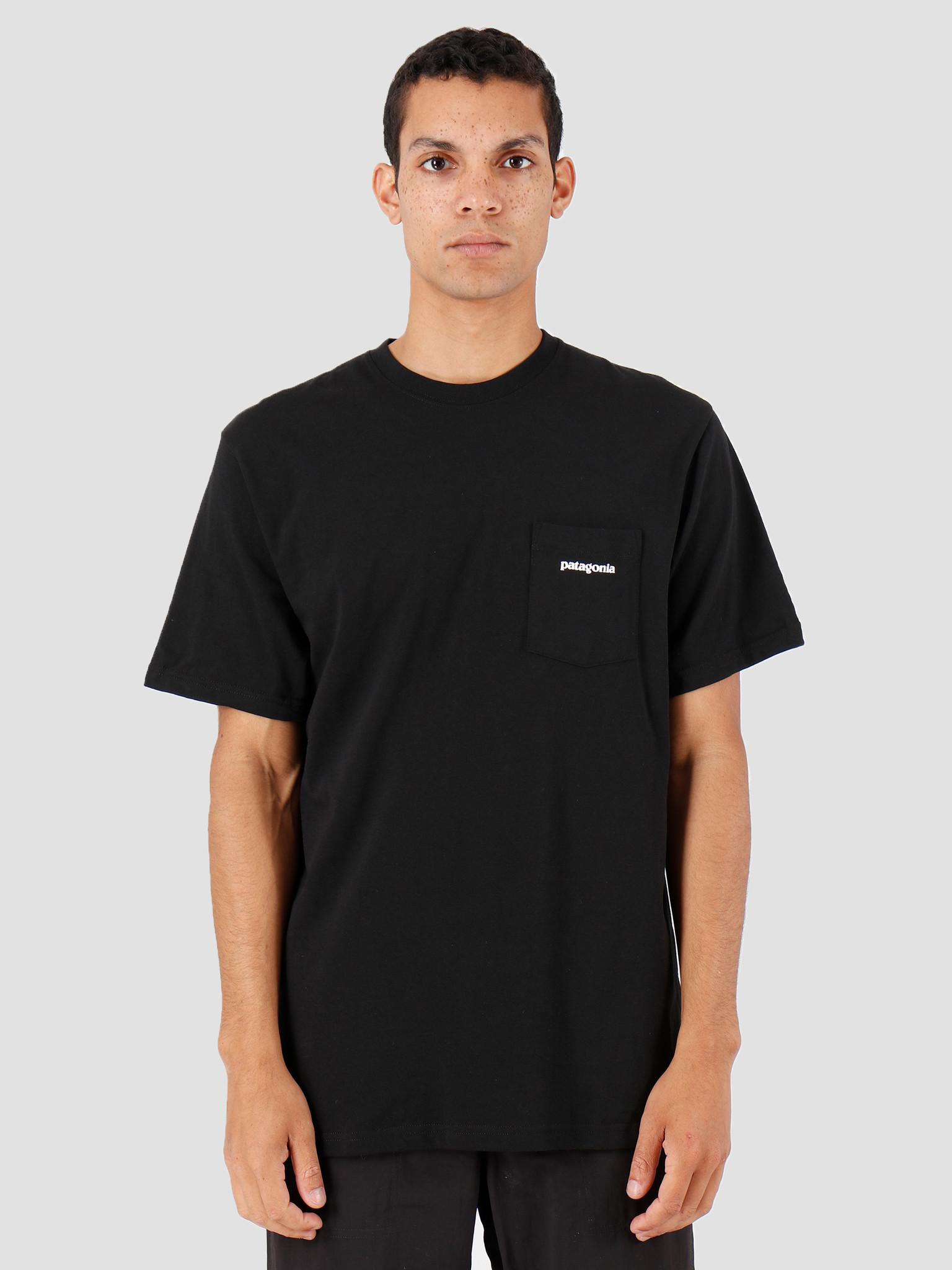 Patagonia Patagonia P-6 Logo Pocket Responsibili T-shirt Black 39178