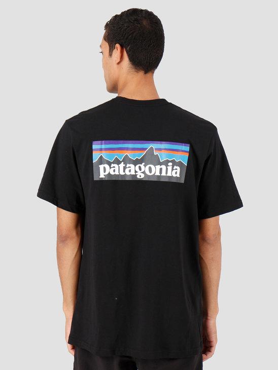 Patagonia P-6 Logo Pocket Responsibili T-shirt Black 39178