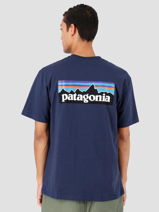 Patagonia P-6 Logo Responsibili T-shirt Classic Navy 39174