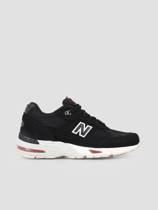 New Balance M991 D Nkr Black Red 737851-60