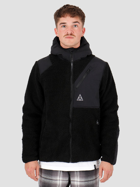 HUF Aurora Tech Jacket Black JK00168-BLACK