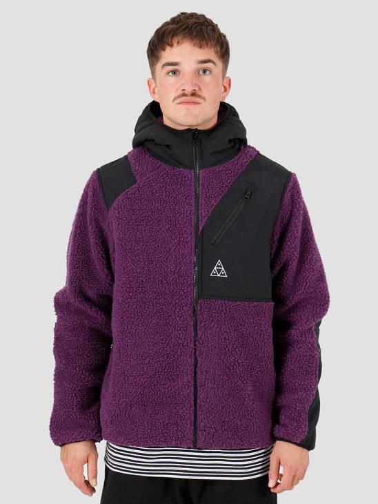 HUF Aurora Tech Jacket Purple Velvet JK00168-PRPLV