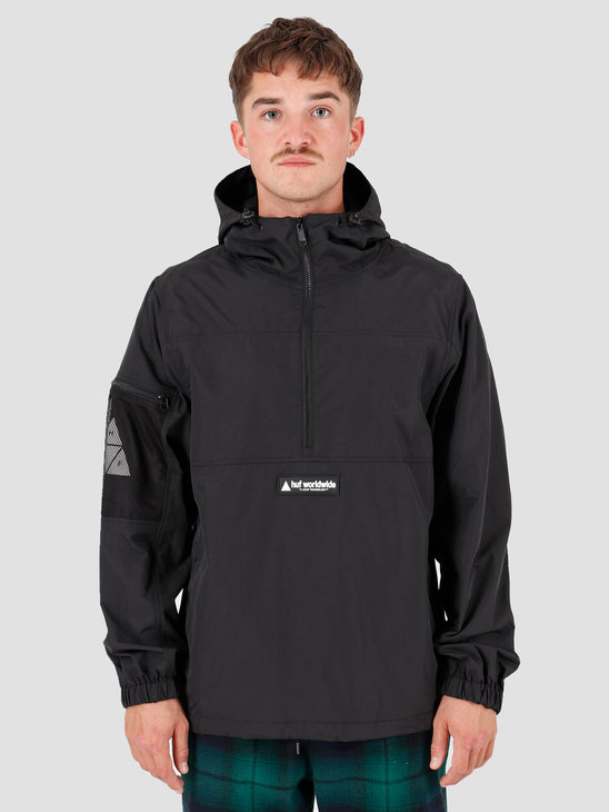 HUF Nystrom Packable Jacket Black JK00160-BLACK