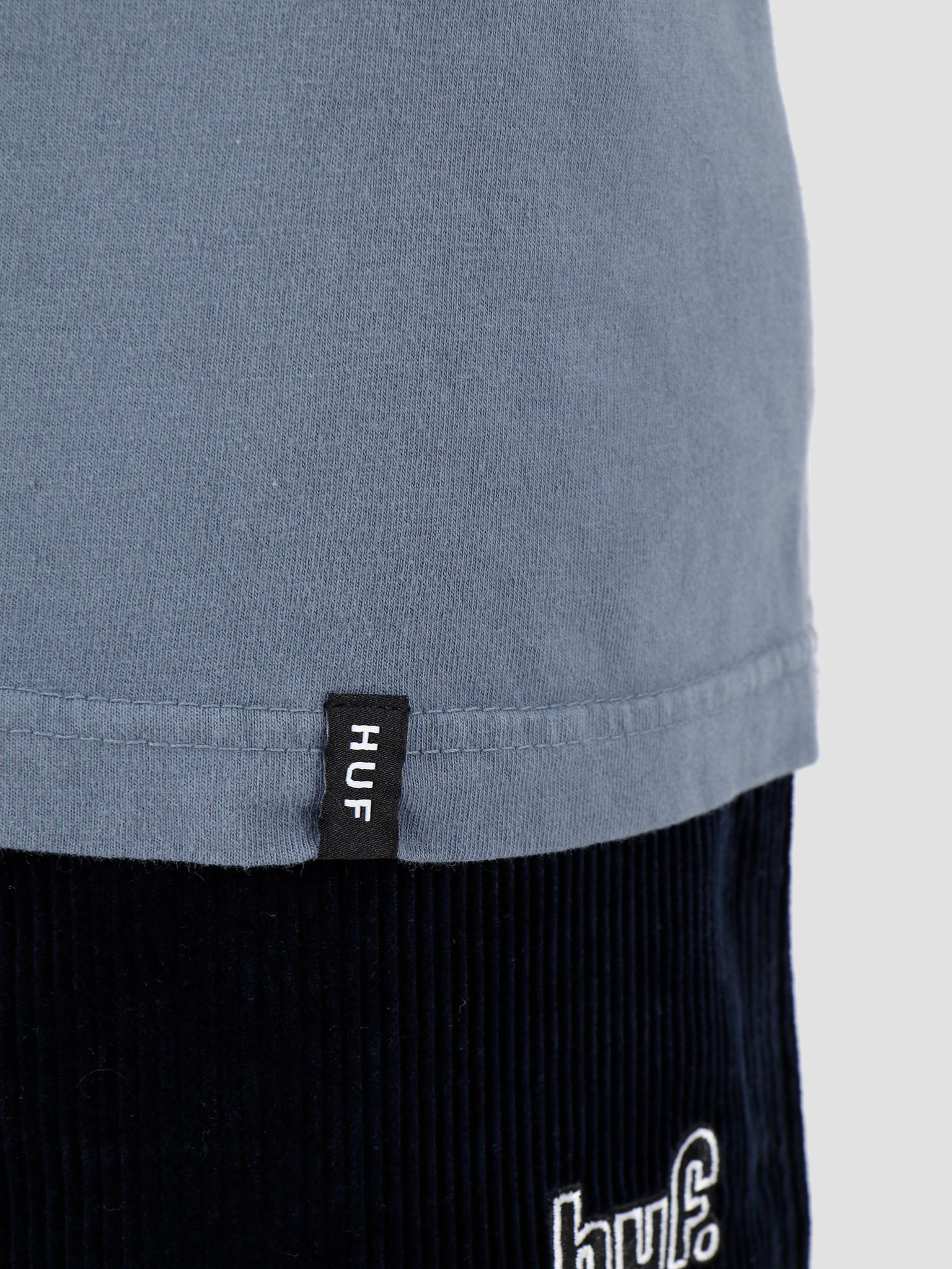 HUF HUF Action Hero Longsleeve T-Shirt Blue Mirage TS00809-BLMIR