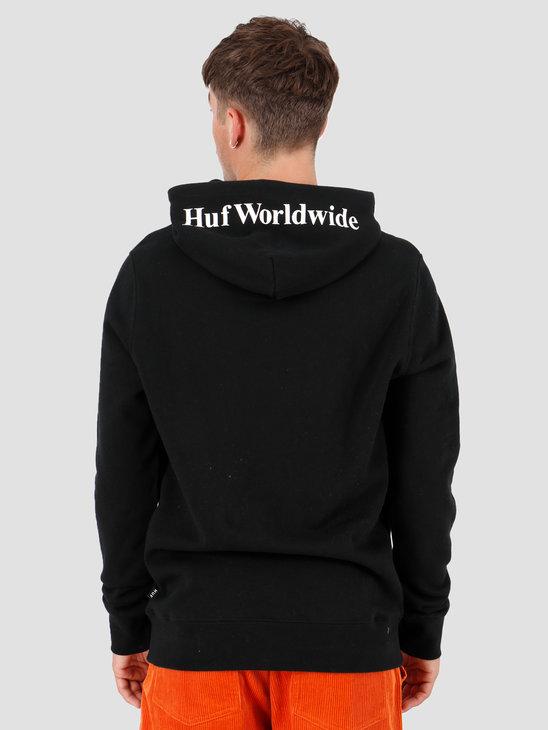 HUF Box Logo  Hoodie Pf00098-Black