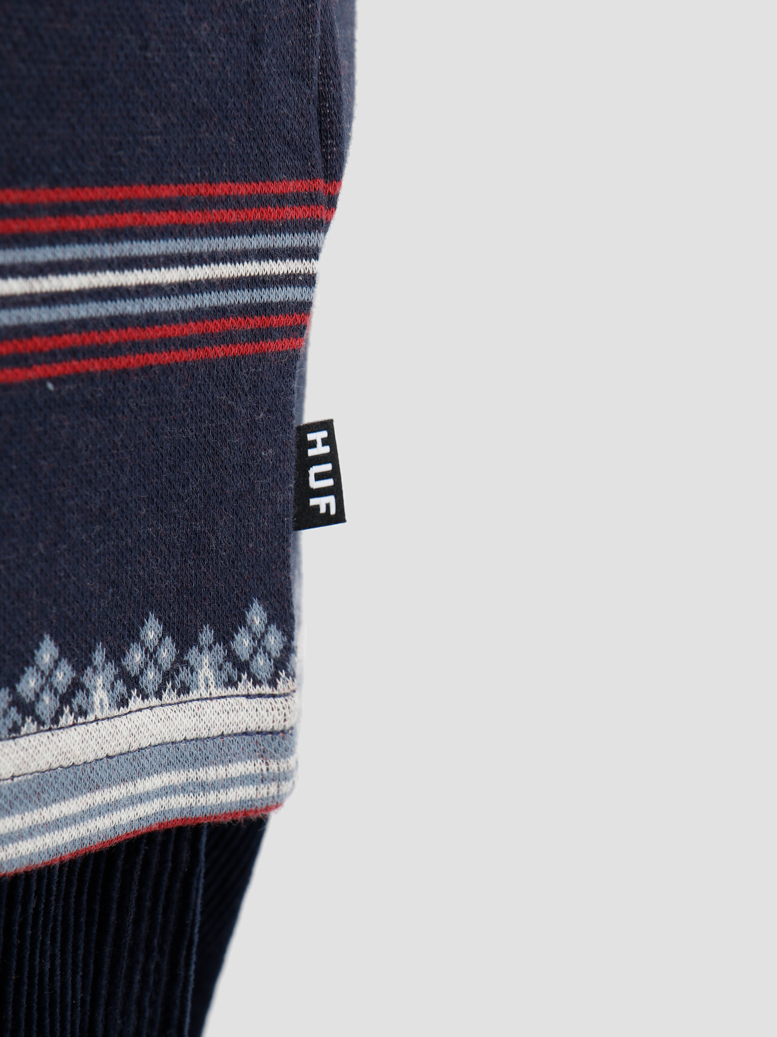 HUF HUF Hana Striped Knit Top Dark Navy KN00119-DKNAV