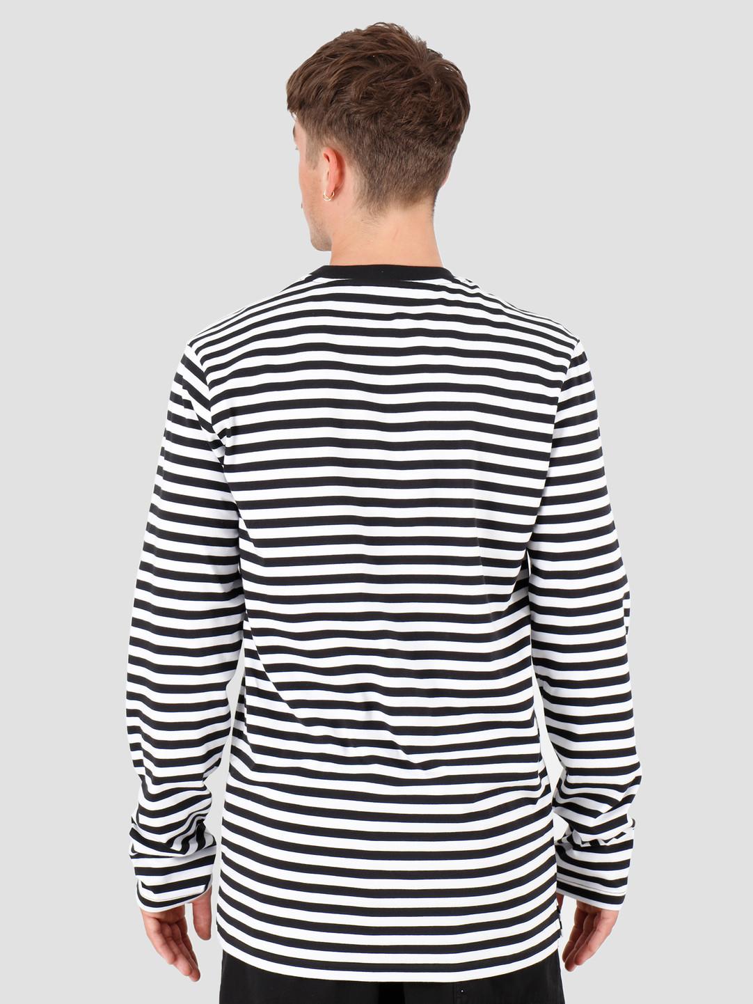 HUF HUF Morris Longsleeve Knit Top Black KN00158-BLACK