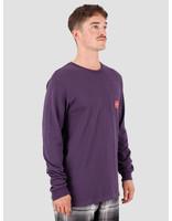 HUF HUF Sedona Longsleeve Pocket T-Shirt Purple Velvet TS00876-PRPLV