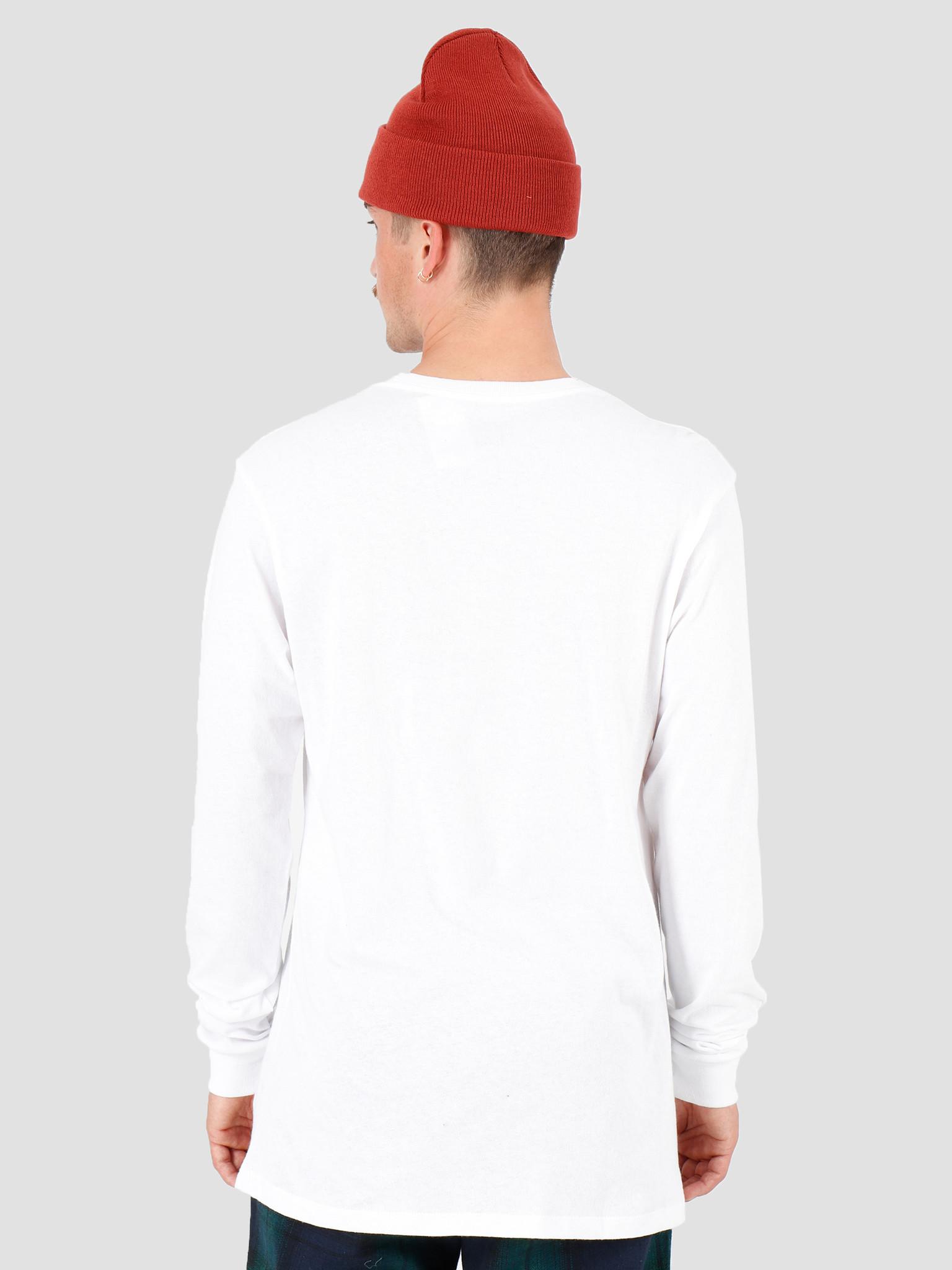 HUF HUF Sedona Longsleeve Pocket T-Shirt White TS00876-WHITE