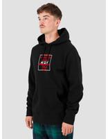 HUF HUF Takeover Hoodie Black PF00157-BLACK