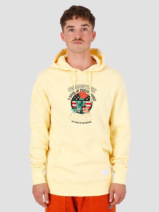 HUF Woodstock Hoodie Yellow PF00222