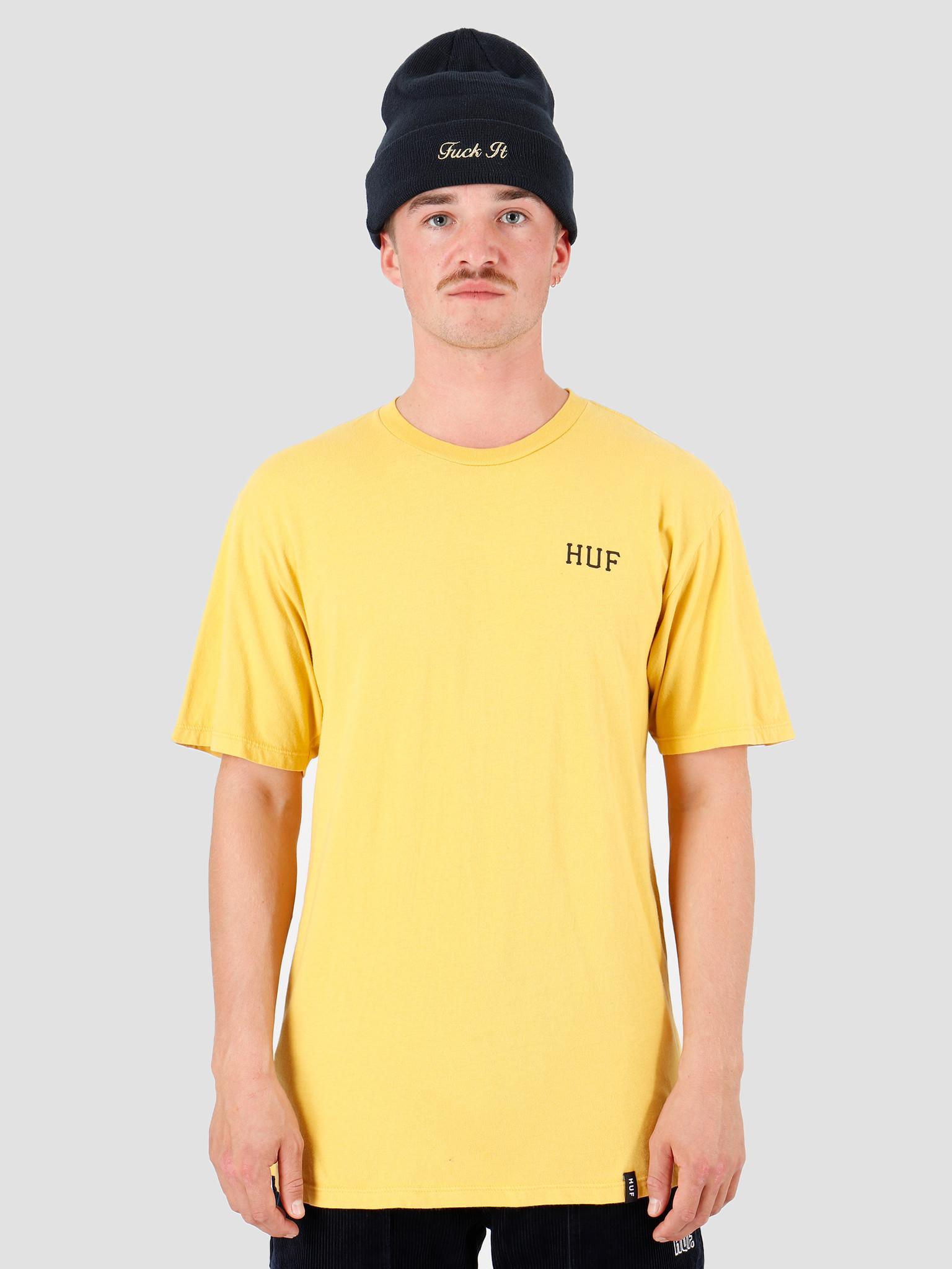 HUF HUF Dystopia Classic H T-Shirt Sauterne TS00817-STRNE