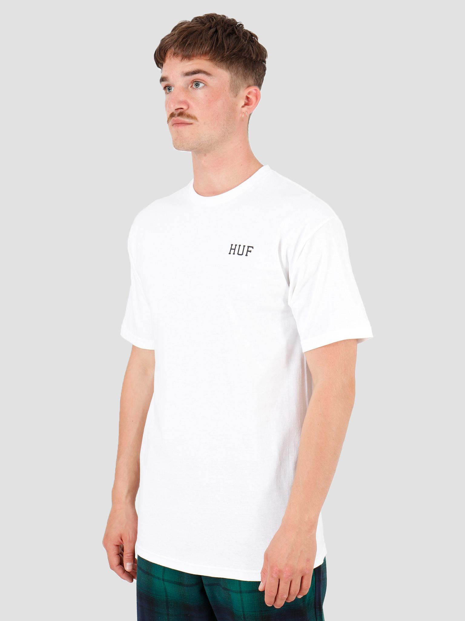 HUF HUF Dystopia Classic H T-Shirt White TS00817-WHITE