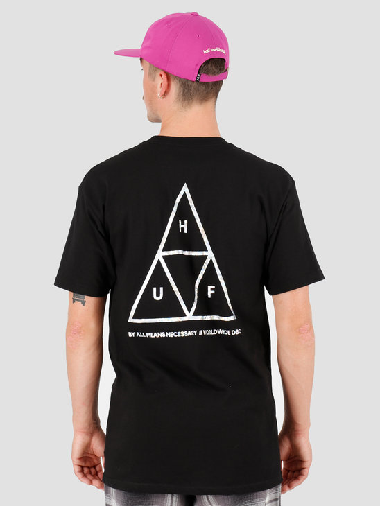HUF Hologram T-Shirt Black TS00815-BLACK