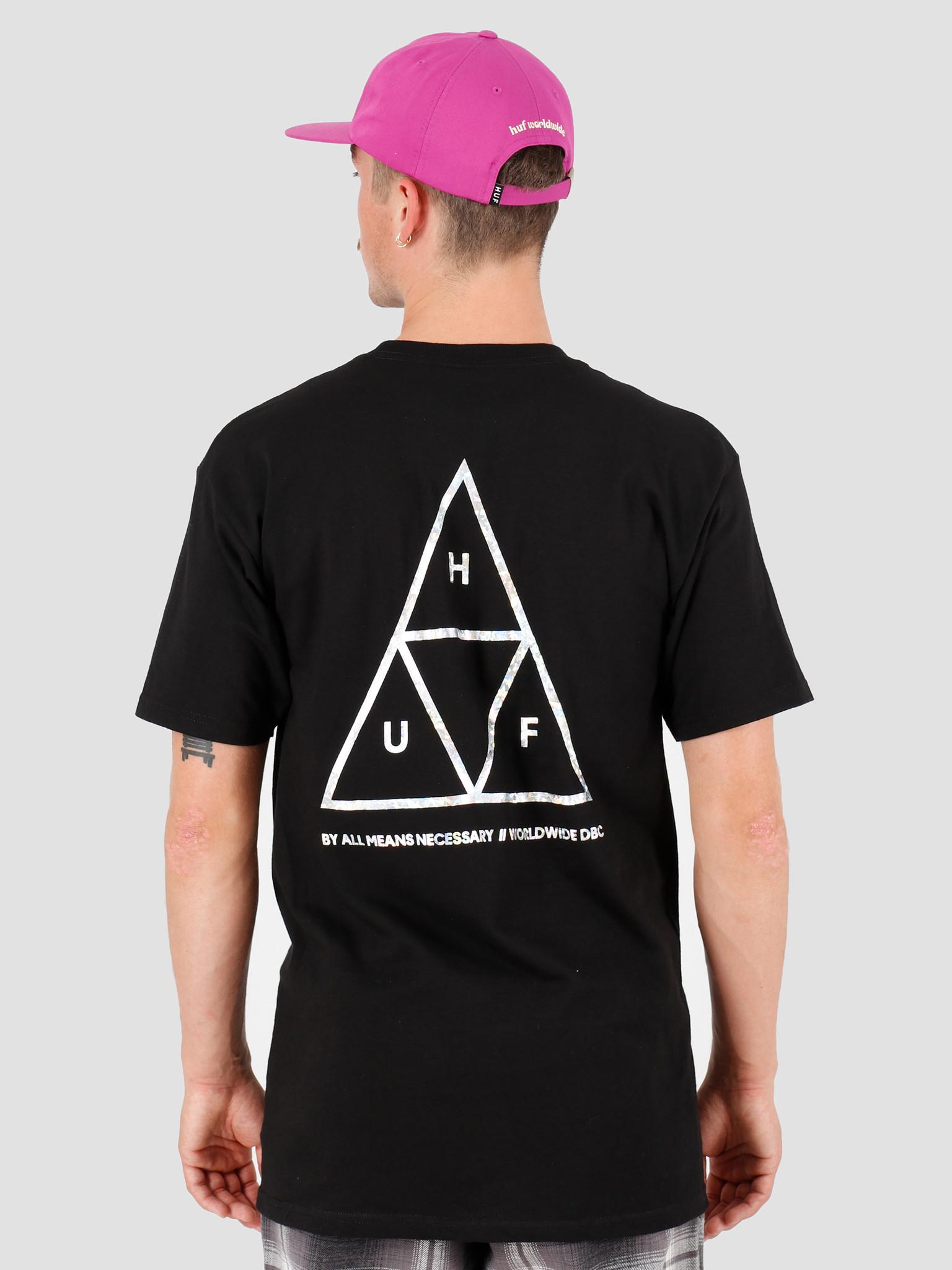 HUF HUF Hologram T-Shirt Black TS00815-BLACK