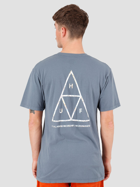 HUF Hologram T-Shirt Blue Mirage TS00815-BLMIR