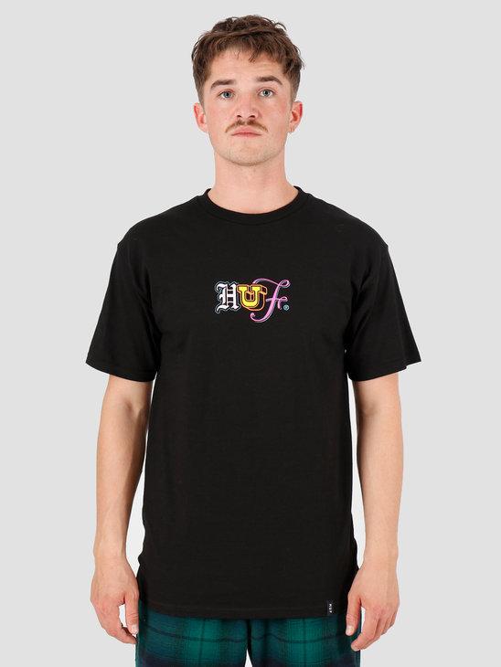 HUF Ransom T-Shirt Black TS00820-BLACK