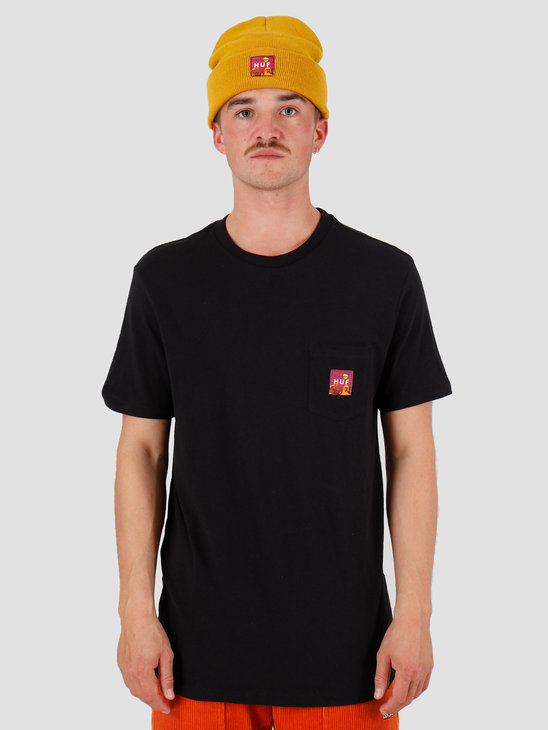 HUF Sedona Pocket T-Shirt Black TS00814-BLACK